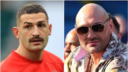 Jonny May earns plaudits and Tyson Fury celebrates – Saturday's sporting social