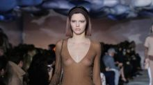 Kendall Jenner says she was told to 'take the shirt off' in very first runway show