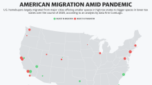 People flocked to these US metros during COVID-19
