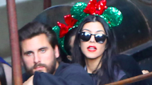 Kourtney Kardashian and Scott Disick Take Boys to Disneyland for Their Birthday