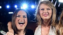 Taylor Swift makes 'generous' donation to Mariska Hargitay's foundation for survivors of sexual assault