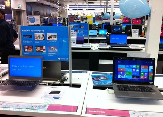 40 million Windows 8 licenses sold in a month; meanwhile, mum's the word on Surface sales