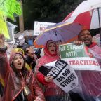 Similar struggles have led to recent teacher strikes in US