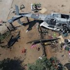 13 dead after helicopter crash at Mexico earthquake site