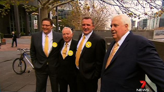 Clive Palmer's new recruits