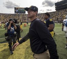 Jim Harbaugh thinks Donald Trump should 'check the constitution' after anthem remarks
