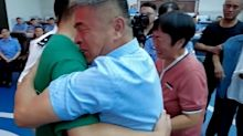 Parents miraculously reunited with abducted son after 24 years