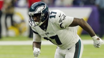 Eagles looking to trade Jeffery; it won't be easy