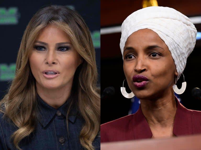 Rep. Ilhan Omar Has Been A US Citizen Longer Than Melania Trump