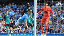 Manchester City win Spurs rematch as Phil Foden heads them top