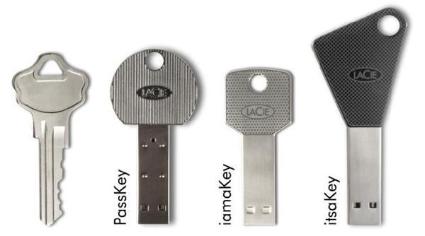 LaCie's new Sally Struthers-approved USB key drives