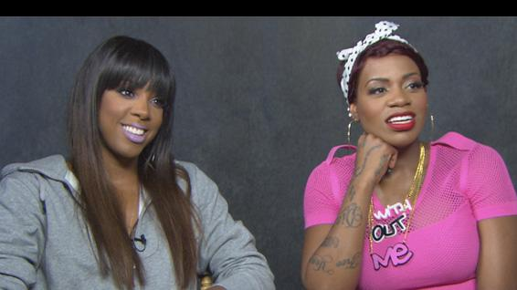 Kelly Rowland and Fantasia Dish On 'Without Me'