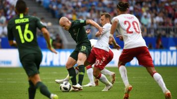 Jedinak risponde al gol di Eriksen: Danimarca-Australia finisce con il risultato di 1-1