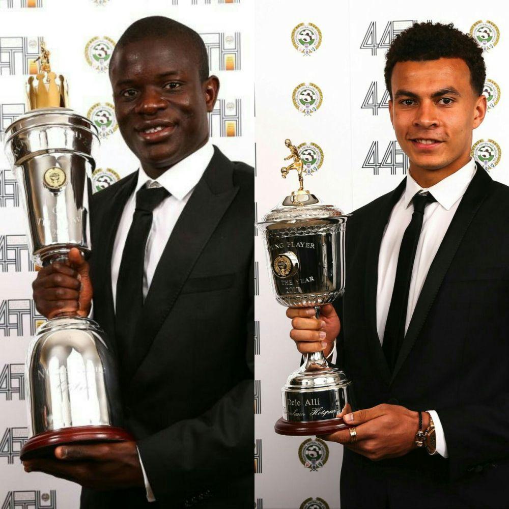 PFA Awards: Kanté giocatore dell'anno, Alli miglior giovane