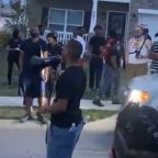 Protesters Gather Outside Home in Columbia, South Carolina, After Viral Video Shows Soldier Threaten Black Man