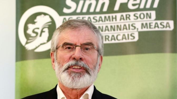Gerry Adams quittera la présidence du Sinn Féin en 2018