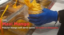 The Philippines famous mango soft serve, Maxi Mango opens first outlet in Singapore