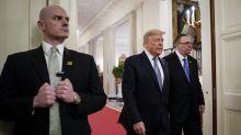 Document reveals Secret Service has 11 current virus cases, as concerns about Trump's staff grow