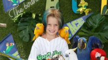 Jessica Simpson Throws Son an Epic 'Baseball and Parrots' Party for His 5th Birthday