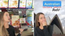 Expat TikToker reveals her biggest Australian culture shocks