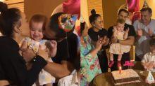 Sabrina Sato e Duda Nagle comemoram 1 ano de Zoe em família