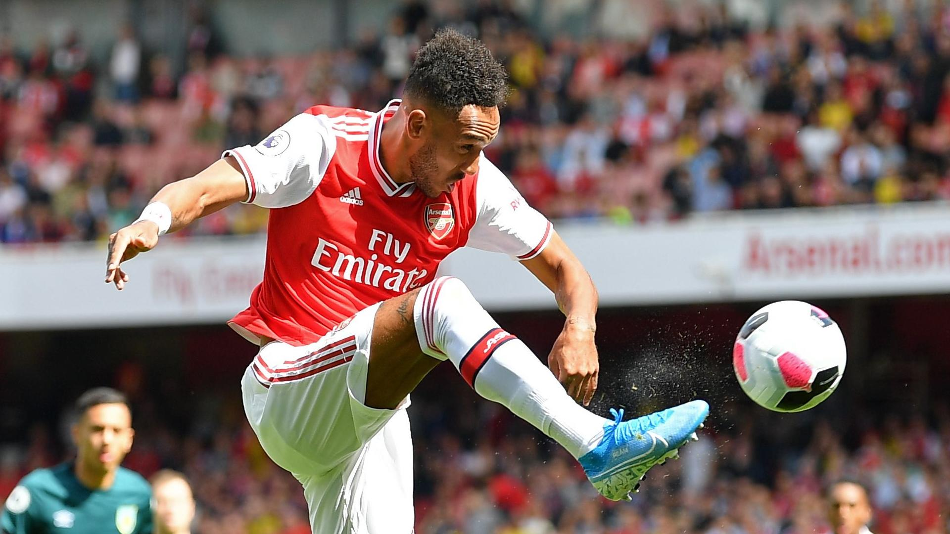 Pierre-Emerick Aubameyang sets Arsenal target for 2019-20 season
