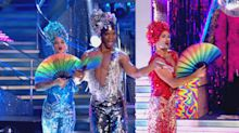 'Strictly' fans can't get enough of Johannes Radebe in 'Priscilla Queen of the Desert' sequins and heels