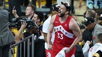 Report: Marc Gasol to remain with Raptors