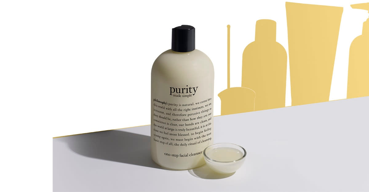 Try an award winning, multi-tasking cleanser.