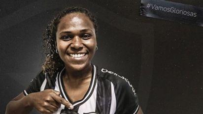 Botafogo oficializa a contratação de Cris para sua equipe feminina