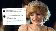 The Crown's Emma Corrin calls herself a 'queer bride'