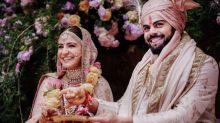Virat and Anushka Auction Pictures of Italian Wedding for Charity