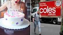 Coles delivery fail 'ruins' girl's birthday party