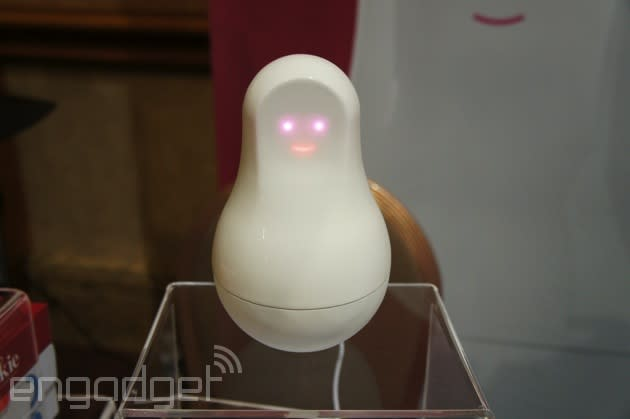 Here's a WiFi-enabled Russian Doll that's designed to replace your mother