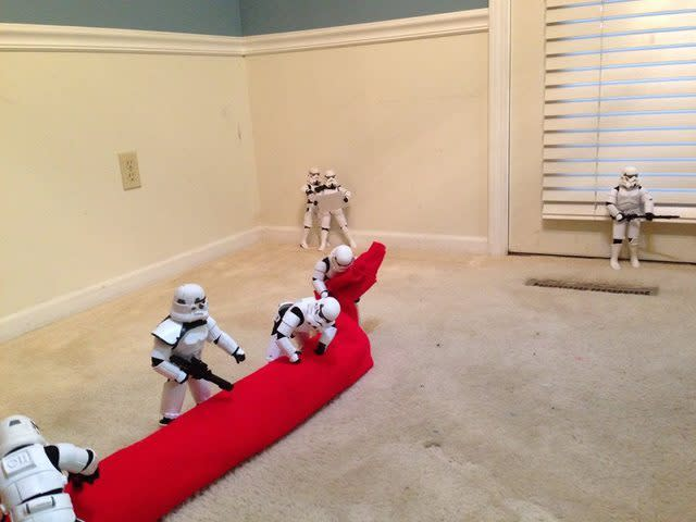 "<p>As <a href=""https://www.yahoo.com/makers/epic-star-wars-decorating-guide-012100593.html"" data-ylk=""slk:everyone has Star Wars on the brain;outcm:mb_qualified_link;_E:mb_qualified_link"" class=""link rapid-noclick-resp yahoo-link""><i>everyone</i> has <i>Star Wars</i> on the brain</a> due to the upcoming Dec. 18 release of the seventh film in the series, <i>Star Wars: The Force Awakens</i>, Shearrer's clever comedic series has hit right at the perfect time.<br></p>"