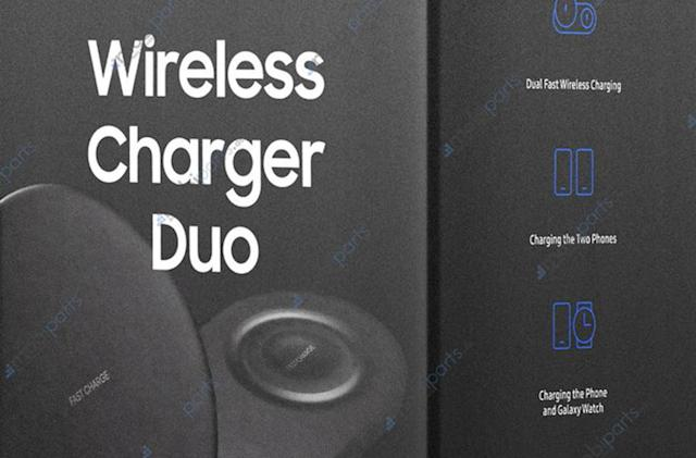 Samsung's unreleased Duo charger showed up at an Amazon event