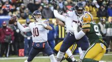 WATCH: Mitch Trubisky fumble leads to Packers touchdown