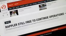 Philippines' Duterte blasts news site Rappler, but denies stifling media