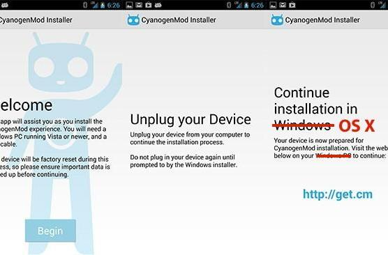 CyanogenMod Installer comes to the Mac in beta form