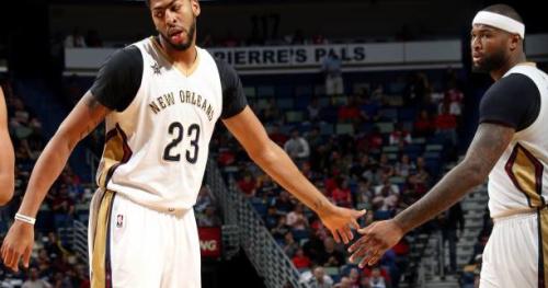 Basket - NBA - NBA : le duo Davis-Cousins s'amuse, Utah en démonstration