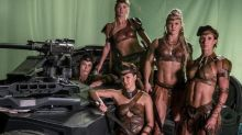 Skimpy Amazonian costumes in Justice League anger fans