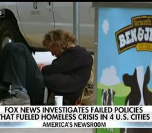 Homeless crisis spiraling out of control in West Coast cities