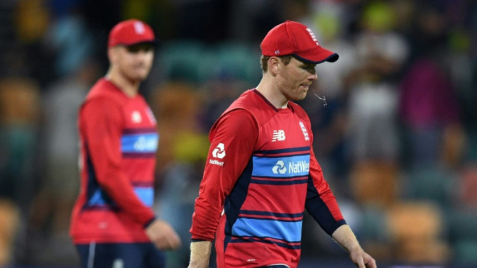 Captain Morgan leads England's battle to stay in tri-series