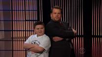 11-Year-Old Viral Sensation Joins James Corden for a Dance