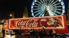 Coca-Cola's Christmas truck tour scaled back after protests from health campaigners