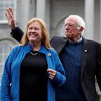 Bernie Sanders said 'on a good day, my wife likes me' in response to Hillary Clinton's statement that 'nobody likes him'
