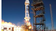 Bezos Gets First Paying Customer for Blue Origin Rocket