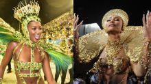 Iza é destaque no Rio e Sabrina Sato em São Paulo; Confira outros momentos do Carnaval