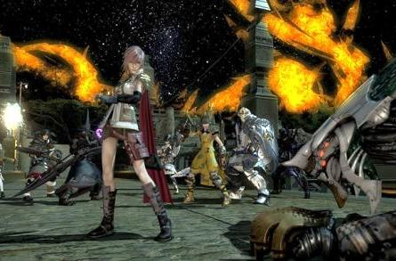 Lightning strikes Final Fantasy XIV on Thursday
