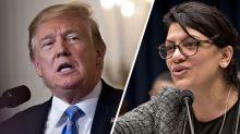Trump se suma a las críticas por los comentarios de la representante Tlaib sobre el Holocausto
